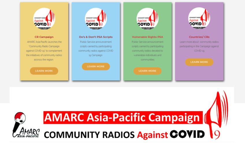 AMARC AP released PSA guidelines for CR campaign against COVID-19