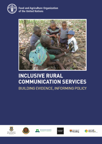 Inclusive Rural Communication Services: Building Evidence, Informing Policy