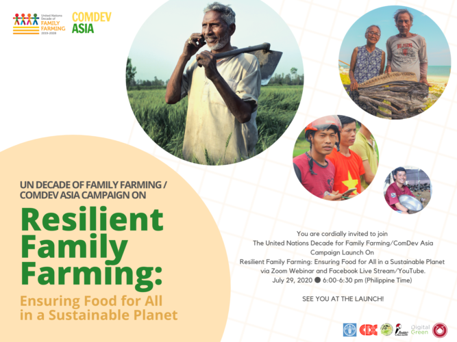 Campaign Launch of UNDFF/ComDev Asia's Resilient Family Farming: Ensuring Food for All in a Sustainable Planet