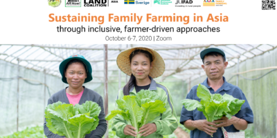 Sustaining Family Farming in Asia through Inclusive, Farmer-driven Approaches