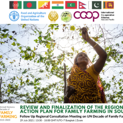 Review and Finalization of the Regional Action Plan for Family Farming in South Asia