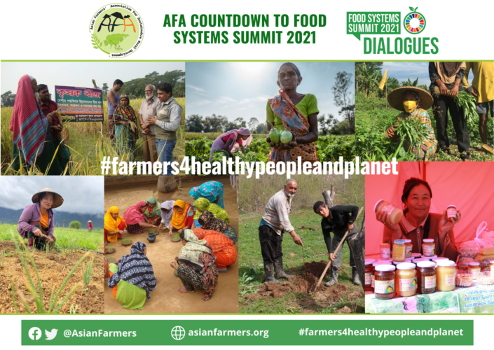 Asian Family Farmers Declaration for the UN Food Systems Summit 2021