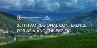 FAO's APRC 35 postponed amidst Covid-19 crisis