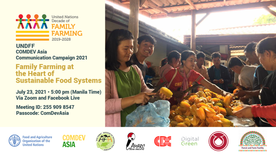 UNDFF CDA to Launch Campaign Promoting the Role of Family Farmers to Sustainable Food Systems